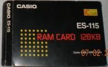 ES-115 — RAM card 128 KiB