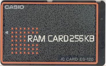 ES-120 — RAM card 256 KiB