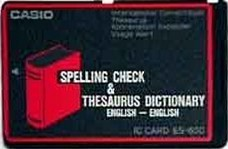 ES-600 — Spell Check & Thesaurus Dictionary (English↔English)