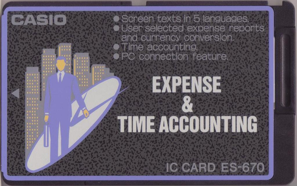 ES-670 — Expense & Time Accounting