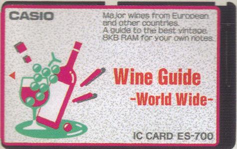 ES-700 — Wine Guide World Wide