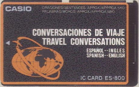 ES-800 — Travel Conversations (Spanish—English)
