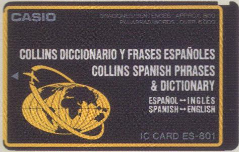 ES-801 — Collins Spanish Phrases & Dictionary