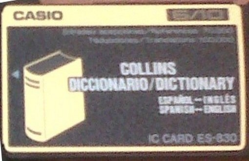 ES-830 — Collins Dictionary (Spanish↔English)