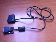 Cable connection between the diary and a PC