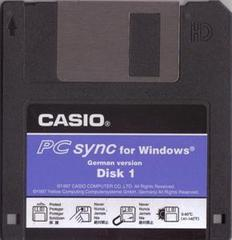 PC-sync software. Disk #1/2.