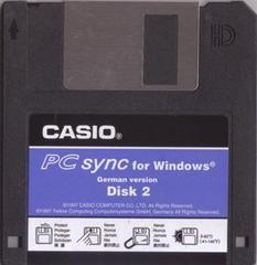PC-sync software. Disk #2/2.