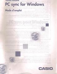 French PC-SYNC manual