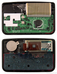 Inside view comparison of DC-200 and DC-210
