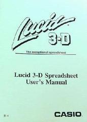Lucid 3-D manual