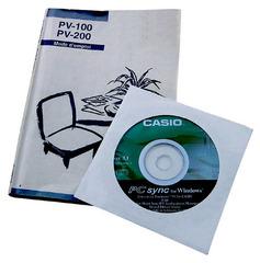 French user's manual and PC-sync software