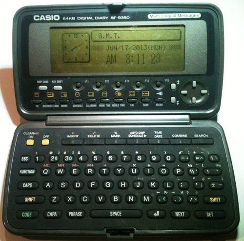 casio digital diary sf 4000 manual